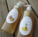 Organic Marshmallow roots & Flaxseed Extracts Hair Moisturizer Gel $11.50, 8 oz $1.44/oz(available on etsy)